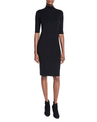 dress sweater dress black bodycon dress
