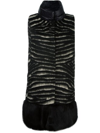 coat sleeveless coat sleeveless black