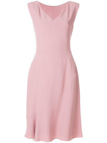 Alberta Ferretti dress midi dress back women midi purple pink