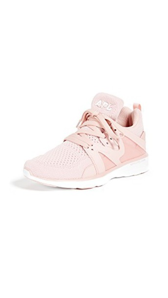 APL: Athletic Propulsion Labs sneakers rose white shoes