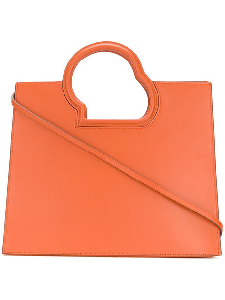 Danse Lente women leather yellow orange bag