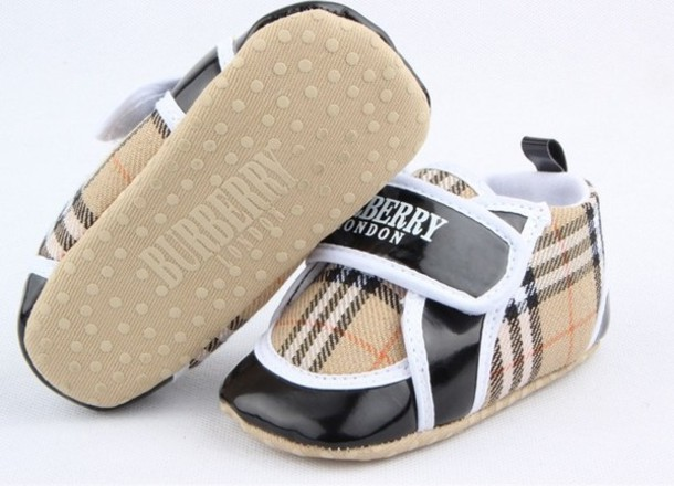 Shoes Burberry Brown Sneakers Baby Kids Fashion