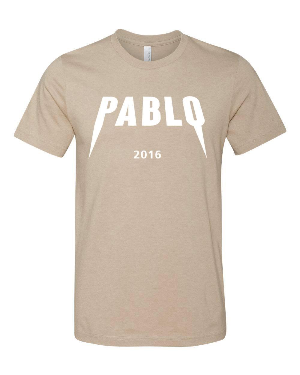 Yeezus Pablo T-shirt, Yeezy Season, Pablo Tee, kanye t-shirt