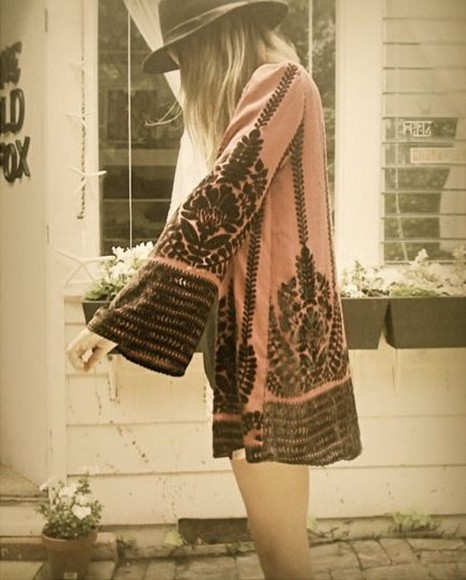 hippie boho shirt jacket