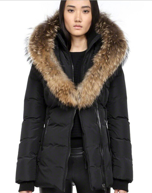 Aliexpress.com : Buy Mackage ADALI F4 FITTED Winter Parka Down ...