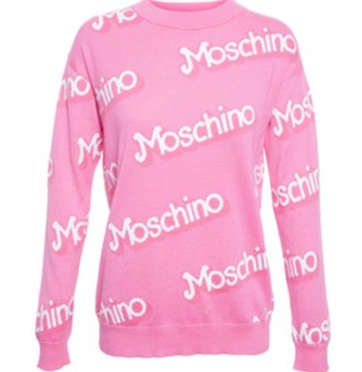 sweater jacket jeans moschino designer nicki minaj pastel pink pink light pink urban pastel pink all pink wishlist white sweater