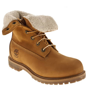 info for beadc 9dbd0 Women's Natural Timberland Authentic Teddy Fleece at schuh
