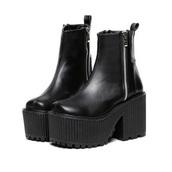 0cfd9e2c55c Goth Plateau Shoes - Shop for Goth Plateau Shoes on Wheretoget