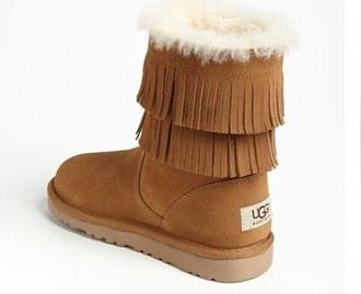 shoes ugg boots fringes