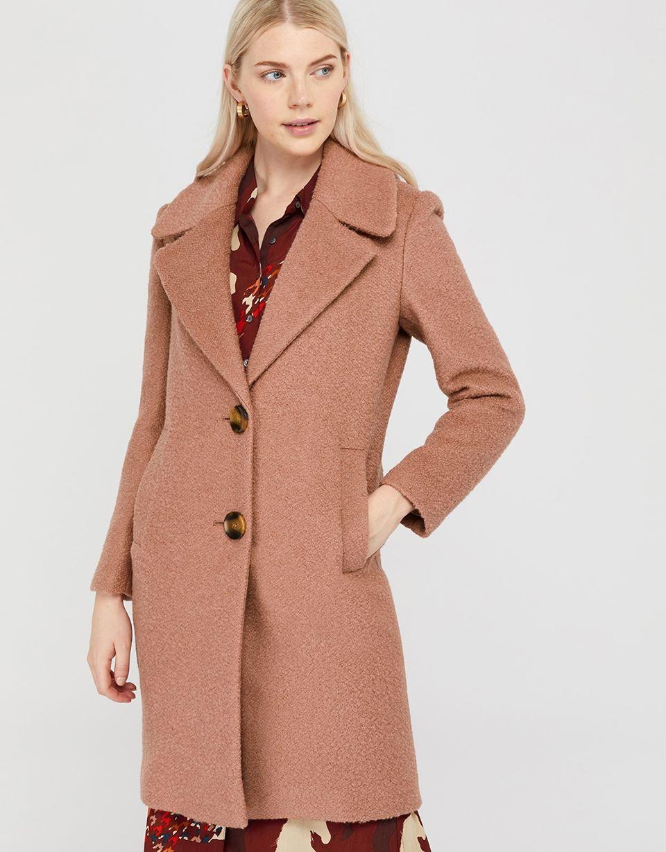 Billie Boucle Coat