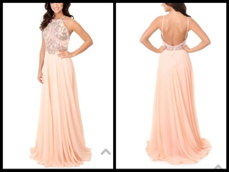 dress prom dress lucy's boutique pink dress silver pattern 2015 prom dresses