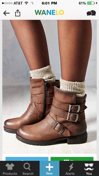 shoes brown ankle boots