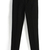 ROMWE | ROMWE Two Snap Fasteners Pocketed Skinny Black Pants, The Latest Street Fashion
