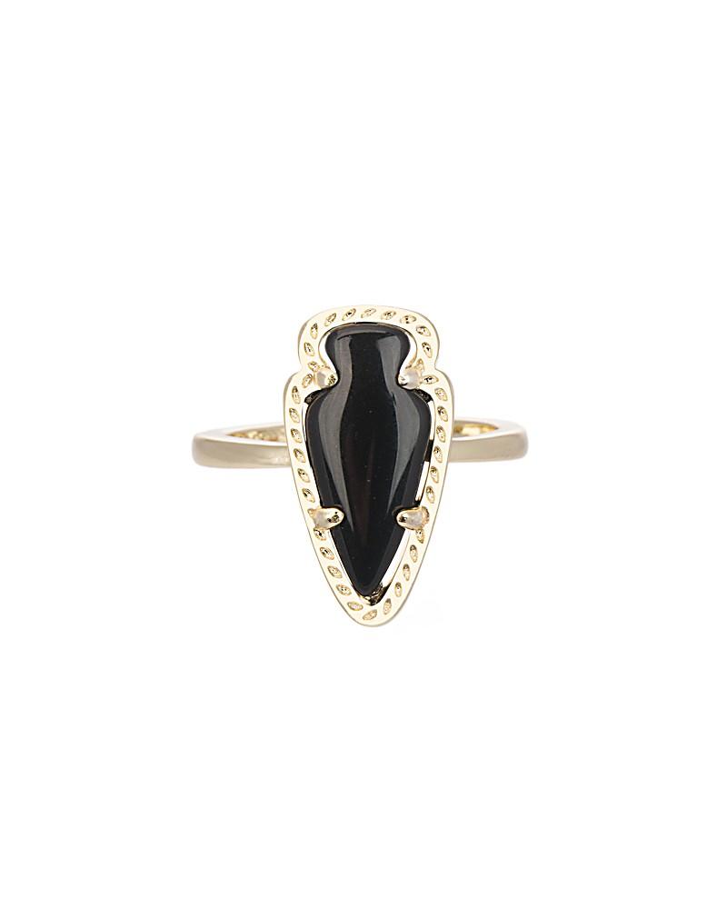 Skylen Ring in Black - Kendra Scott Jewelry