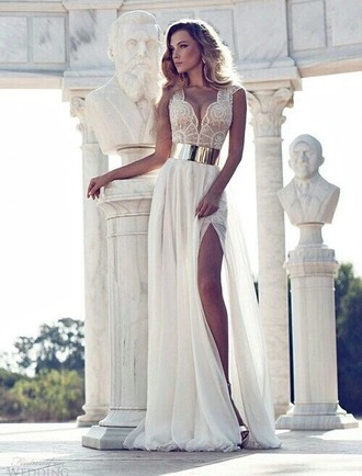 dress white white dress maxi dress