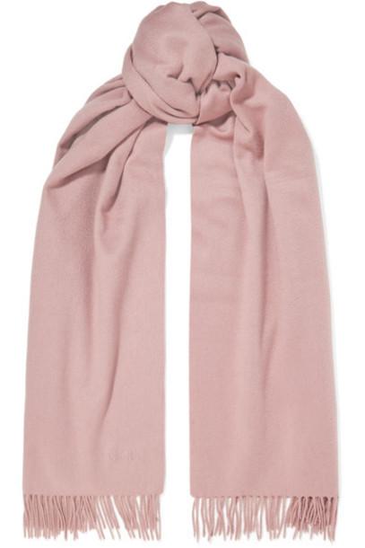 Max Mara scarf blush