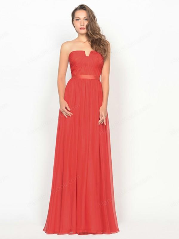 prom dress evening dress evening dress formal dress chiffon neckline cutout red dress red red prom dress chiffon dress chiffon prom drees
