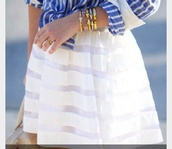 skirt,white,stripped skirt,summer,flowy,cute,pretty,classy,preppy,style,gorgeous