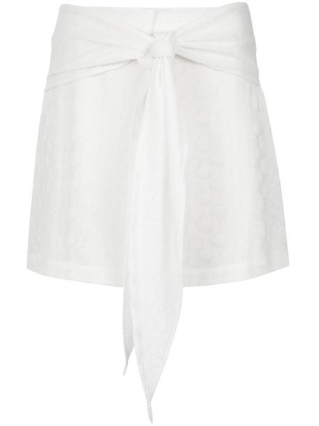 skirt women spandex white