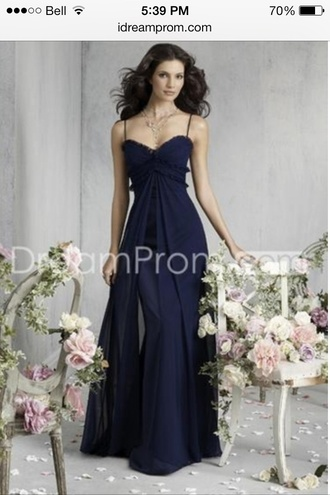 dress graduation dresses prom dress a line dress spagetti straps long prom dress sweetheart dress navy bridesmaid long bridesmaid dress gradation sweetheart neckline chiffon satin long dress online store pretty lace trim trim flowy ruffle aline no sleeves sleeveless graduation dress spaghetti strap gown