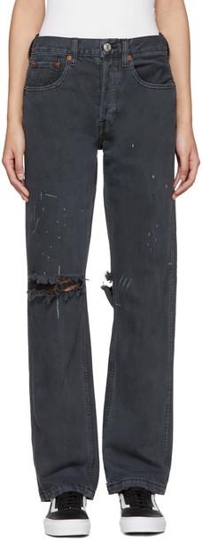 jeans grunge black