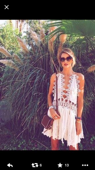 dress celebrity style rosie huntington-whiteley coachella
