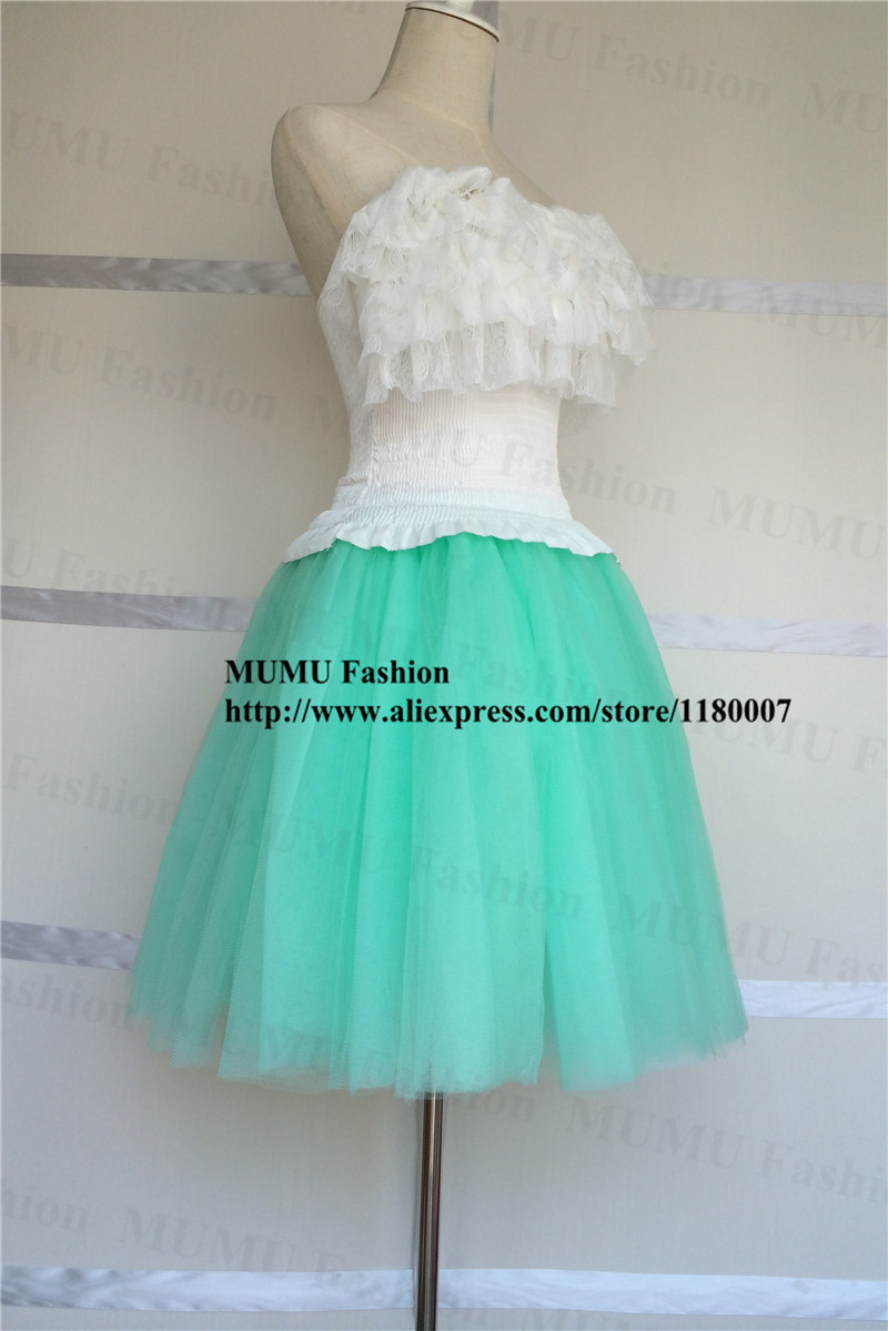 Buy fluffy 7 layers tulle skirt adult for Fluffy skirt under wedding dress