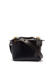 bag,shoulder bag,crocodile,dark,blue,dark blue