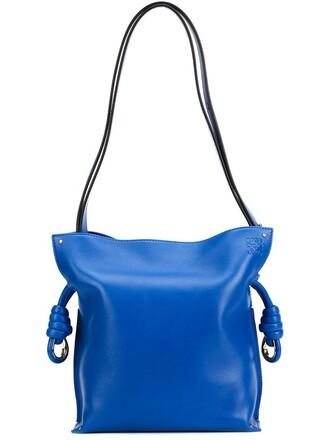 bag shoulder bag blue