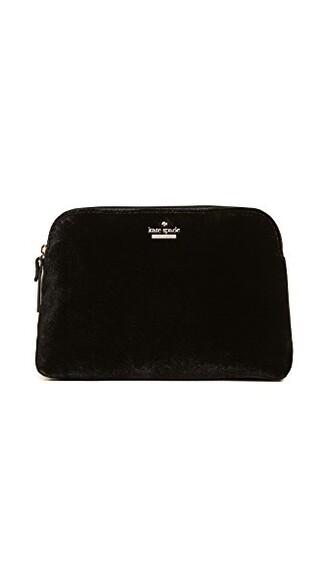 bag velvet black