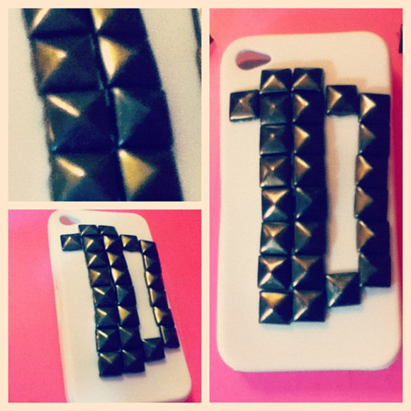jewels studded iphone case studded iphone cover iphone case phone case iphone 4 case iphonecases one direction niall horan directioner harry studs zayn malik niall horan harry styles louis tomlinson liam payne liam