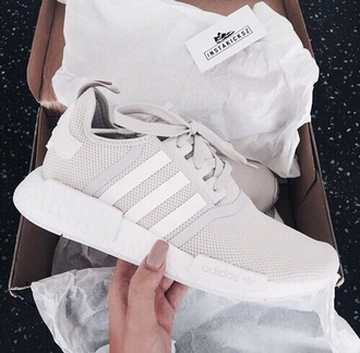 shoes adidas grey white