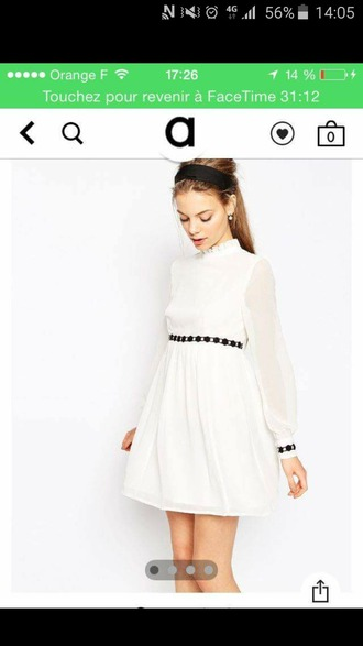 dress white dress asos