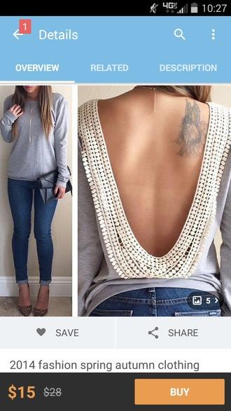 blouse grey shirt