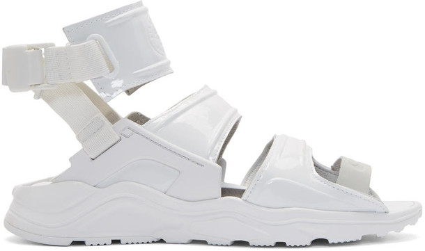 Nike sandals white shoes