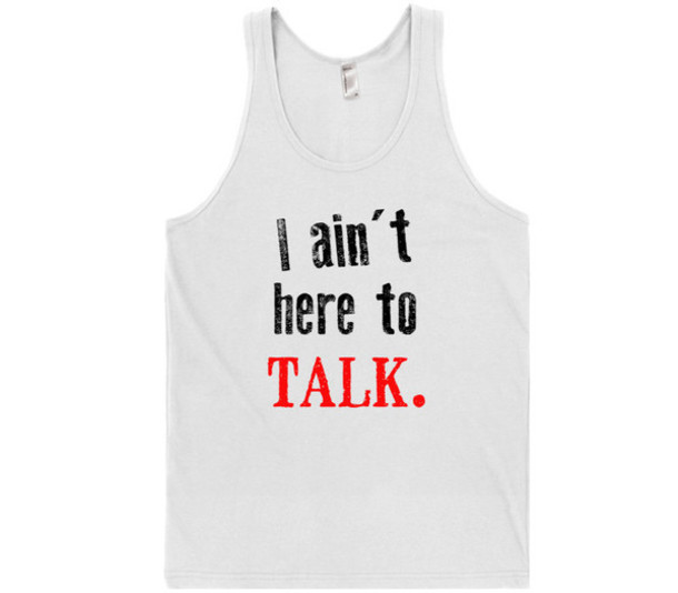tank top quote on it cool trendy style summer sporty funny white red black sportswear quote on it stylish clothes