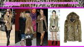coat,leopard print,fur jacket,fur hood,trendy,winter outfits,celebrity,faux fur jacket,hair bow,mary kate olsen,ashley olsen,olsen,olivia palermo