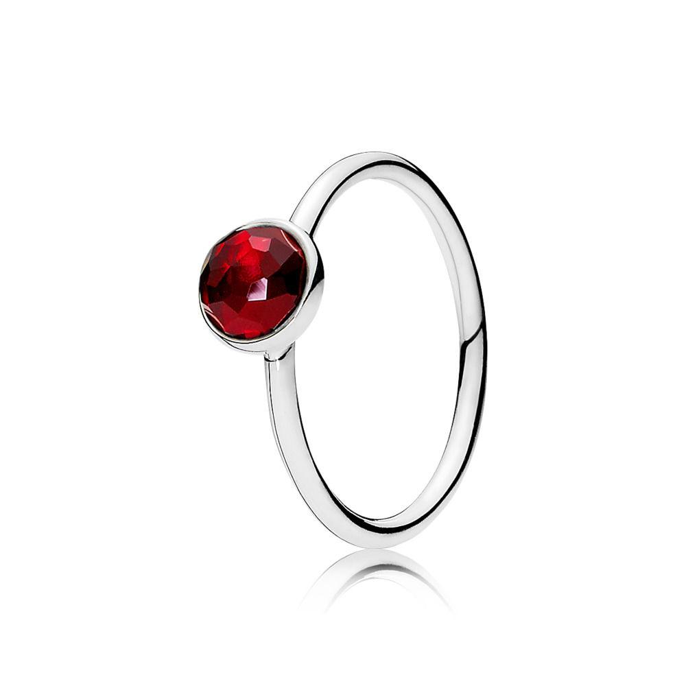 July Droplet Birthstone Ring - Pandora UK|PANDORA eSTORE
