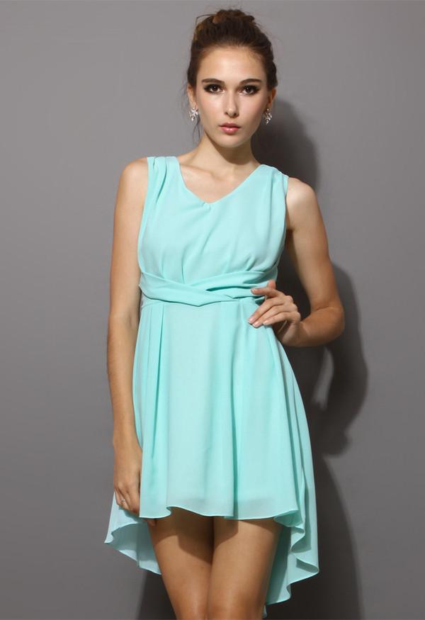 Hot Sale 2013 New Fashion M XXL Large Women Chiffon Dress ...