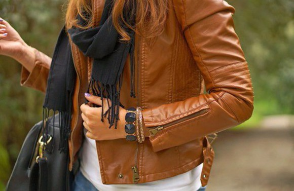 brown jacket leather jacket