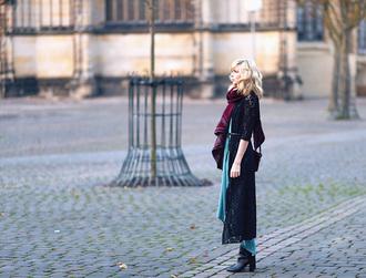 blogger bag bekleidet scarf boho