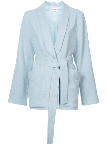 Apiece Apart blazer women blue wool jacket
