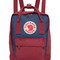 Fjallraven kanken mini backpack - royal blue/ox red