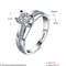 Wholesale aaa classic clear cz engagement white gold ring by factory price   teemtry.com shopping-the best deals on engagement ring
