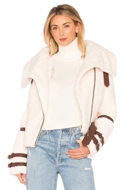 EAVES jacket white