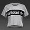 Womens clothing - adidas originals city tko tee - medium grey heather - s19905