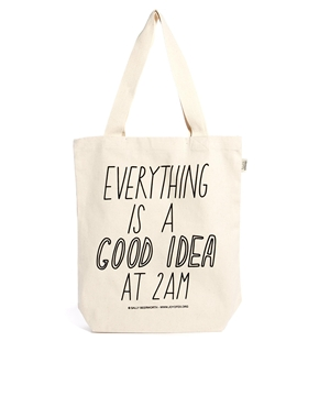 Talented Totes | Talented Totes Sally Beerworth Everything is a Good Idea Tote Bag at ASOS