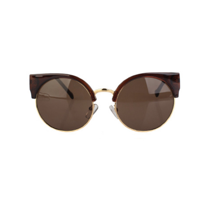 Round cat eyes sunglasses