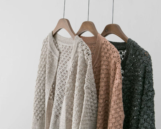 Mystery solid color sweater oversized cardigan