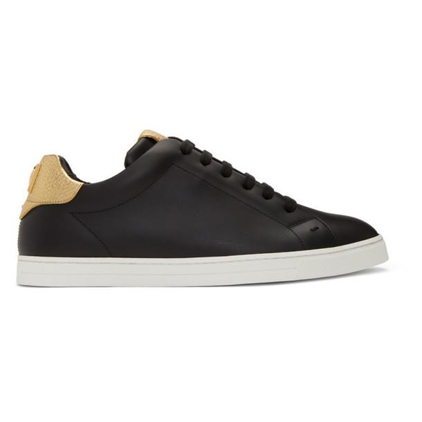 Fendi Black 'Fendi Vocabulary' Sneakers